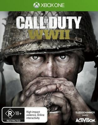 Call Of Duty WWII Xbox One Game EA Brand New In STock
