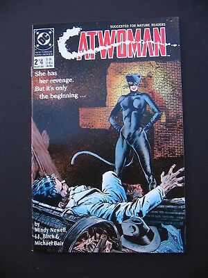 CatWoman #2 #3 #4 VF/NM 1989 Lot of 3  High Grade DC Comic Books