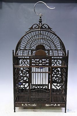 Fine Beautiful Chinese huge Rosewood carving birdcage
