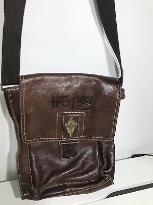 Rare Harry Potter And The Order Of The Phoenix Brown Leather Bag Collectible