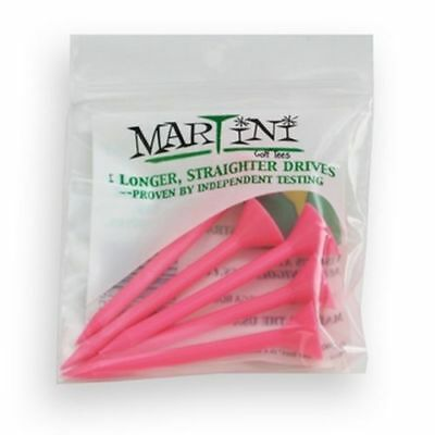 New Authentic Pink Martini Golf Tees - You Choose the Quantity.