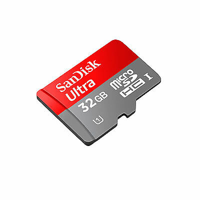 SanDisk 16GB Micro SD SDHC MicroSD TF Class 10 16G 16 GB Mobile Ultra 48MB/s