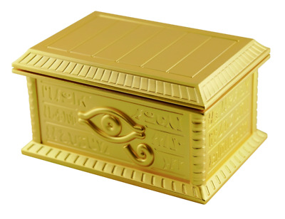 Yu-Gi-Oh! 1/1 Scale Golden Chest Sarcophagus by MOVIC/Konami F/S from JAPAN NEW