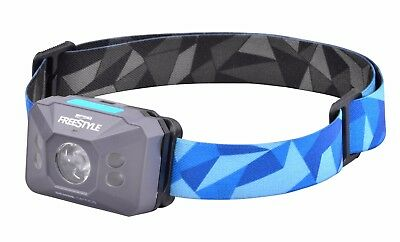 FREESTYLE Sense OPTICS - 3W White LED + UV LED mit Sensor Kopflampe Blau
