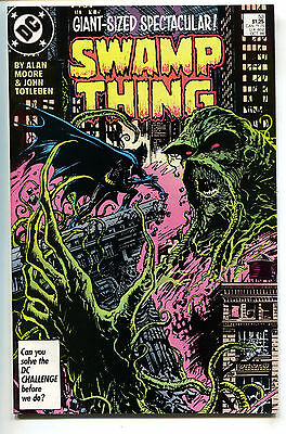 Swamp Thing 53 DC 1986 NM Alan Moore Stephen Bissette Batman