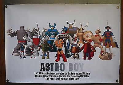Astro Boy Poster 2003 24 x 35 Tezuka Japan Robot Characters