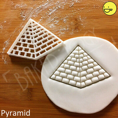 Great Pyramid of Giza cookie cutter | Ancient Egypt Khufu Pharaoh Egyptian tomb