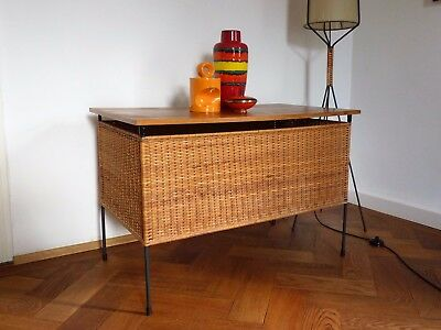 midcentury nisse string ra truhe kommode regal 50er 60er teak palisander eur 149 00. Black Bedroom Furniture Sets. Home Design Ideas