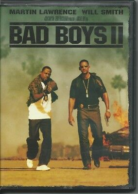 Bad Boys II (DVD, 2003, 2-Disc Set, Special Edition) FREE BOX SHIP in the U.S.