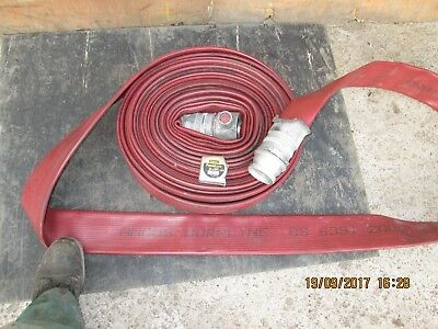 "70 mm  / 3"" inch - FIRE HOSE - BRITISH MADE - 23 METER LONG"