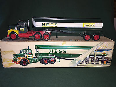 1968 Hess Tanker Truck, Perth Amboy, NJ. works,rare,vintage,collectible,MarxToys