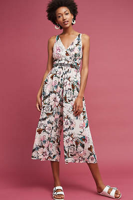 9c9109a2c81 NEW Anthropologie Gwyneth Floral Jumpsuit by Tracy Reese Size 14 (Orig.   168)
