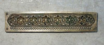 Antique Old Traditional Design Pendant for Jewelry Hand Engraved Bronze Die Mold