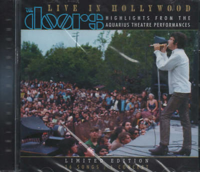 THE DOORS - Live In Hollywood CD 02  Bright Midnight Limited Edit IN CONCERT