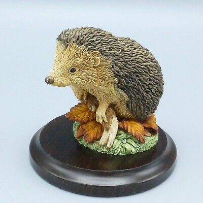 "Country Artists Hedgehog Hedgie Figurine Hand Crafted England 2.75"" Tall"