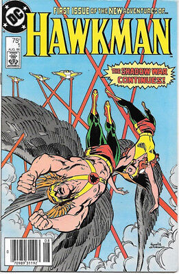 Hawkman Comic Book #1 Second Series DC Comics 1986 FINE+