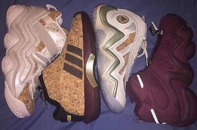 new products 03fee 0a5af Adidas Kobe Vino Pack Retro Basketball Sneakers Mens Size 9 US Lot Of 4