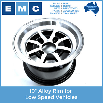 """Rim, 10"""" Alloy for All Low Speed Vehicles"""