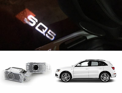 Audi Sq5 Logo Led Puddle Projector Ghost Door Lights For Sq5 Q5