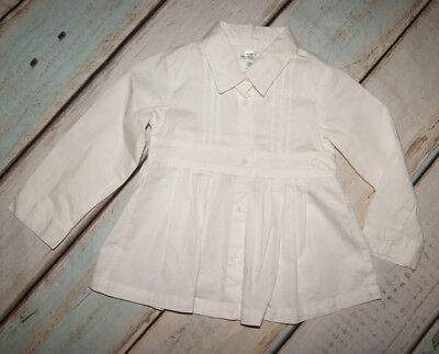 Mayoral Chic Brand New Girls Long Sleeved Shirt Top Size 18 Months