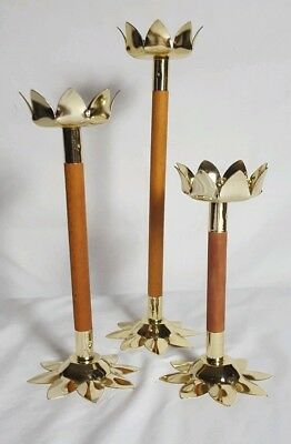 Rare Antique Art Deco Vintage Nu-Trend 3 Candle Votive Retro Mid Century Sconce