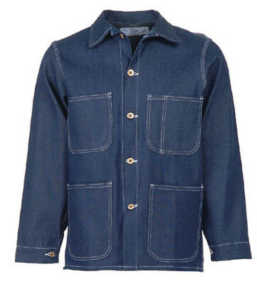Blue Denim Overall/Chore Coat-New-Universal Overall-Vintage Style-size 56