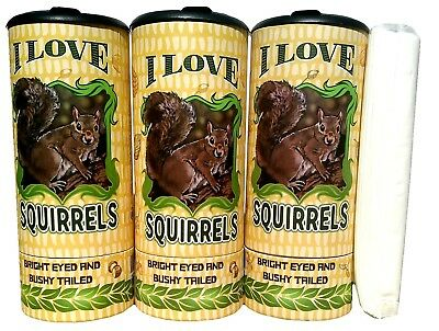I Love Squirrel(85028) Refillable Tissue Tube with 1 Refill package