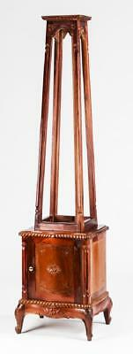"""Display Stand, Mahogany Obelisk-Shaped, 73"""" H, Great for Displaying Pictures!!"""