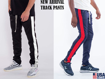 Men's Hipster Techno Track Pants W/ Spandex