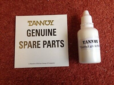 One bottle 30ml genuine TANNOY correct speaker fixing glue, speaker repairs