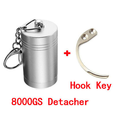 8000GS Magnetic Detacher Security Tag Remover with Hook Key for Eas System