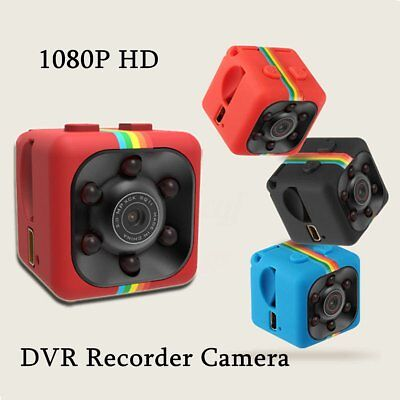 SQ11 Mini Camera HD Camcorder Night Vision 1080P Voice Video Recorder DV Cam RED