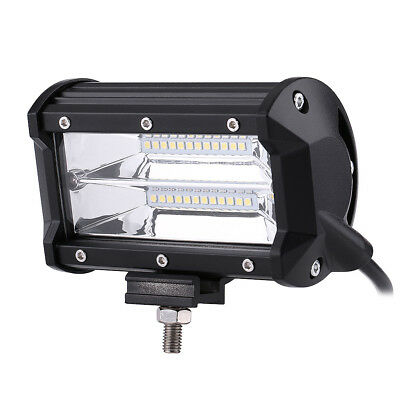 5 Inch 72W LED Work Light Bar Spot Flood Driving Lamp Boat Truck SUV Offroad GL