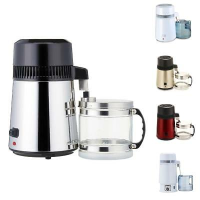 4L Electric Moonshine Still Alcohol Oil Water Purifier/Filter Distiller Home/Lab