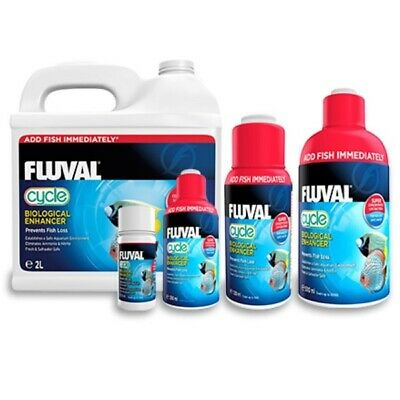 Fluval Cycle Biological Water Fresh Salt Fish Tank Bio Filter Nutrafin Bacteria