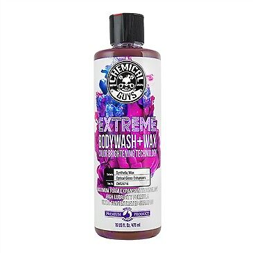 Chemical Guys Extreme Body Wash & Wax with Color Brightening Technology 16oz