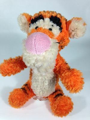 "Disney Parks Exclusive Winnie The Pooh's Tigger Tiger  9""  Toy Plush Fluffy Pile"