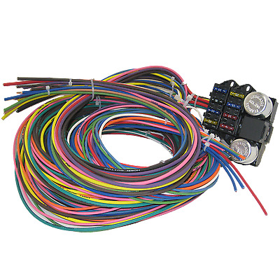 Winjet Universal Wiring Harness furthermore Engine Wiring Harness in addition Proses Pembuatan Wiring Harness additionally Summit Wiring Harness together with B01961AZF8. on painless wiring harness universal