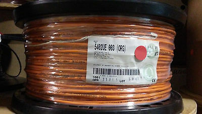 Belden 5402Ue Orange 20 Awg 4 Conductor Cmr Security & Alarm Cable - 1000'