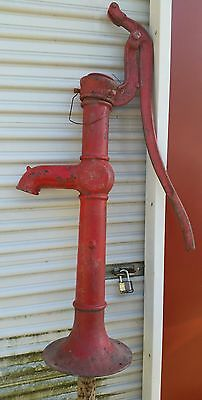 Vintage Dempster Windmill Co. Beatrice NE Cast Iron Antique Hand Water Well Pump