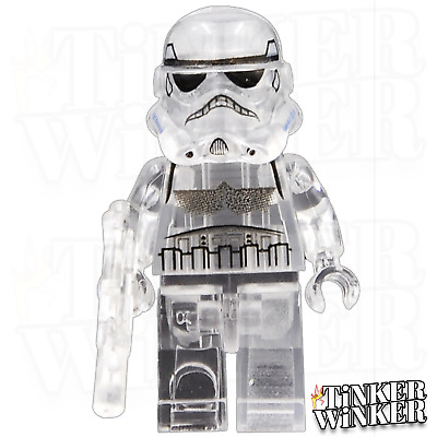 STORM TROOPER - Minifigur Transparent Star Wars Darth Vader kompatibel mit LEGO
