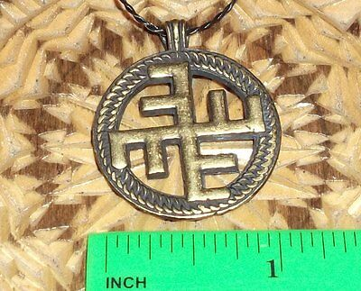Ancient Greek-Scythian Bronze Heavenly Cross / Replica / Amulet-Symbol
