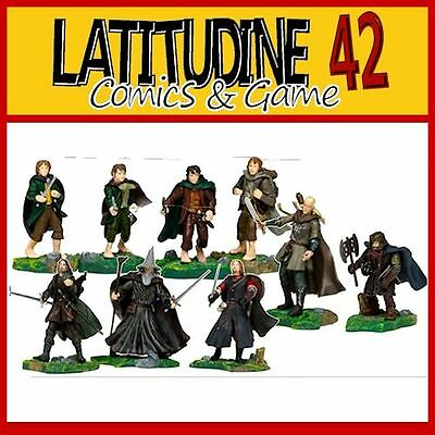 Lotr Lord Of The Rings Play Along Fellowship Collection 9 Set Pack Action Figure
