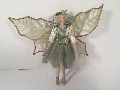 Avon Enchanted Fairy Ornament Caucasian Decoration Collectible