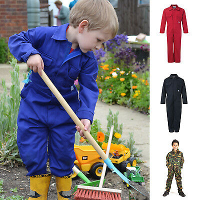 Blue Castle Kids Coverall - Tearaway- Velcro front fastening *