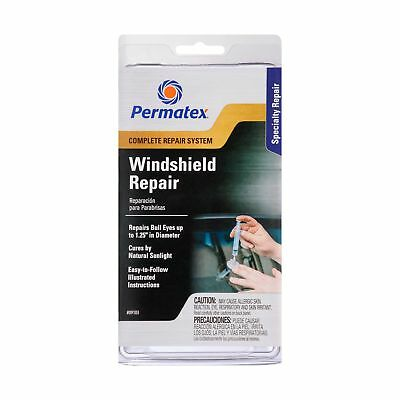 Permatex 09103 Windshield Repair Kit Single Unit New