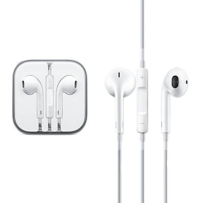 New Generic Earphones Earpods with Remote & Mic For Apple iPhone 6S 6 PLUS 5 5S