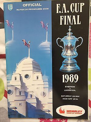 1989 FA Cup Final Programme - Liverpool v Everton