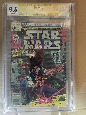 STAR WARS #7, (1978) CGC 9.6 SS, Signed by HARRISON FORD, MARVEL Comics