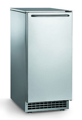 "Ice-O-Matic GEMU090  14"" Air Cooled Undercounter 85 lb. Pearl Ice Maker - 22 lb."